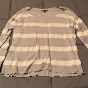Striped lace top!